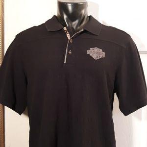 Harley-Davidson Black Polo Shirt